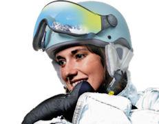 CP Carachillo XS Kinder skihelm Vizier of voor dames met klein hoofd
