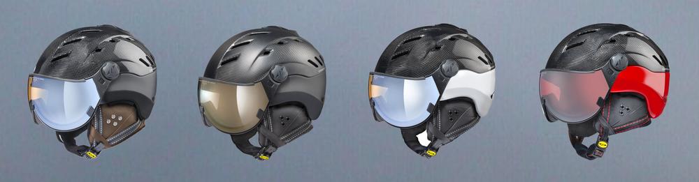 CP Camurai Carbon Ski Helmet - Simply the Best !- CP Carbon Helmet - Carbon Ski Helmet