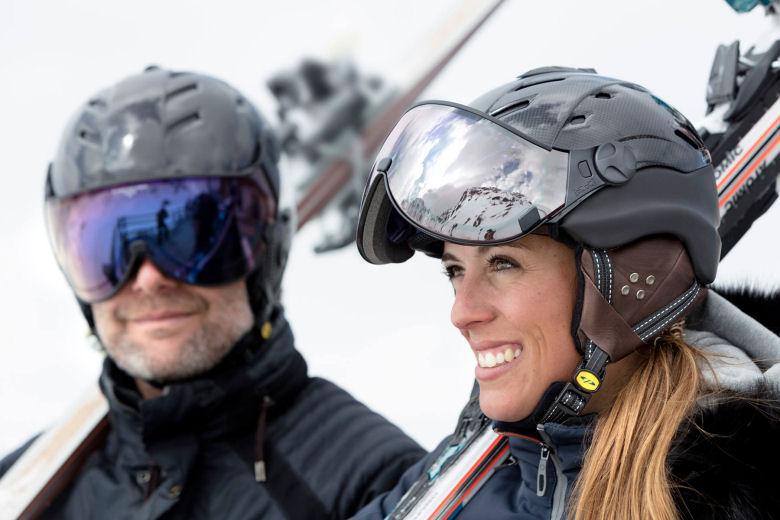 ski helmet with visor test - best ski helmet with visor is from CP