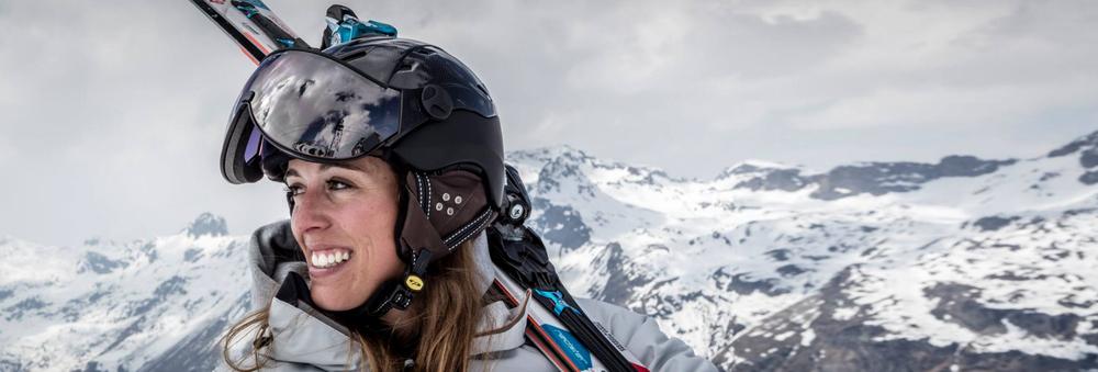 beste skihelm met vizier kopen van cp