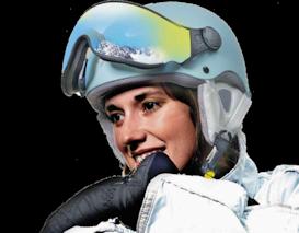 CP Carachillo XS Kinder skihelm met Vizier of voor dames met klein hoofd