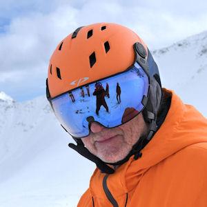 cp corao skihelm met vizier