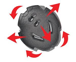 cp coroa+ skihelm uitleg odsa systeem roterende werking