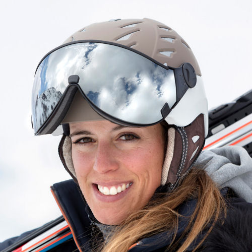CP Damen Skihelm kaufen -  skihelm mit visier damen - de CP Cuma Cashmere - CP Camurai TopSnowShop.de
