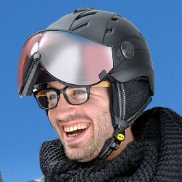 CP beste skihelm voor brildragers - skihelm met vizier voor brildragers - skihelm brildrager