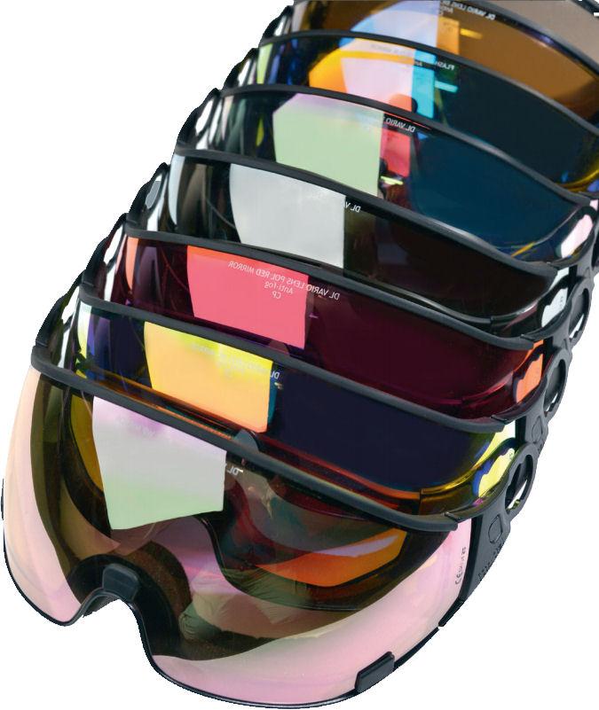 cp skihelm vizier kopen - dl polarized / vario lens