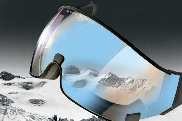 skihelm vizier beschermt je ogen! - tegen Infrarode & UV straling