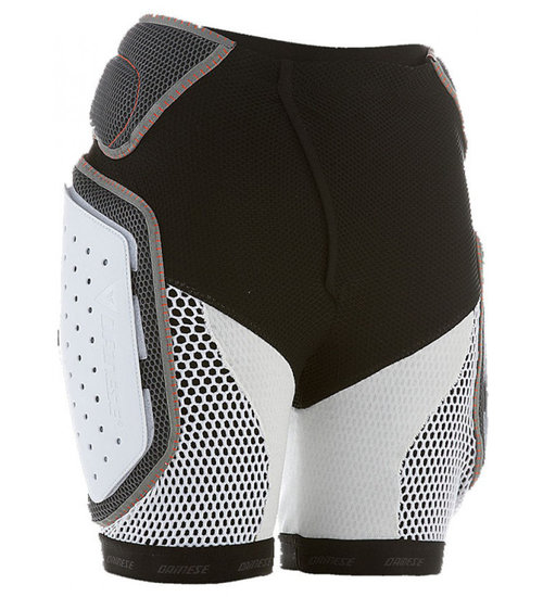 Sportaccessoires Dainese Dainese Action Protection Short Evo Heren Zwart Wit