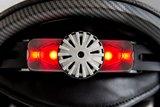 slokker bakka wit hout skihelm leuchtt Visier mit Lichtern-ski helmet with lights