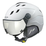 20131_Cp_Corao_skihelm_vizier_wit_single_lens