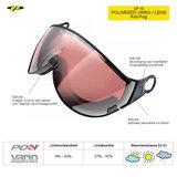 CP 10 Polarized Vario Lens Visor Camurai en Cuma S2-S3 7640171670966