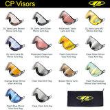 CP los wissel vizier voor camurai en cuma skihelm wechselvisier ersatzvisier exchangeable visor ski helmet vario brown