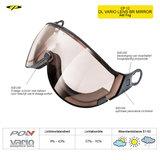 CP 12 DL Vario Lens Brown Mirror Visor Camurai en Cuma S1-S3