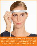 opmeten maat skihelm topsnowshop.nl CP10110
