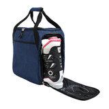 skischoenentas skihelmtas ski helm tas skischuhtasche - skihelmtasche ski helmet bag-case blauw 2