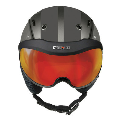 Skihelm Grijs - Casco SP-6 Vizier - Photochrom Vautron - cat.1-3(☁/❄)