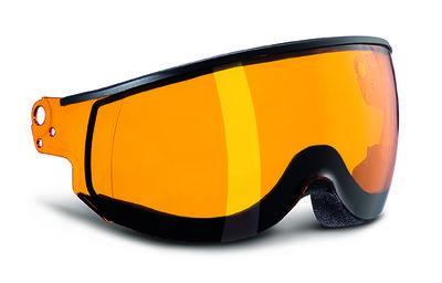 Kask Piuma Orange single lens vizier Cat.2 (☁/☀) - voor Kask skihelm < seizoen 19-20