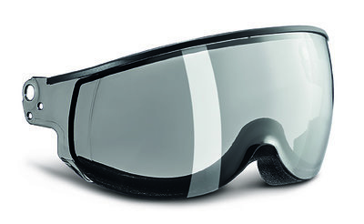 Kask Piuma Silver Mirror single lens vizier Cat.2 (☁/☀) - voor Kask skihelm < seizoen 19-20