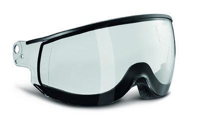 Kask Piuma Transparant single lens vizier Cat.0 (☁) - voor Kask skihelm < seizoen 19-20