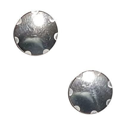 Skihelm slokker schroefsetje aluminium - past ook op mango skihelmen met vizier