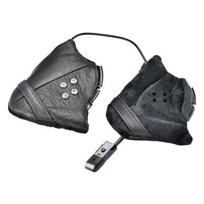 CP skihelm bluetooth audio systeem - met luxe oorstukken leer (voor o.a. CP Carbon)