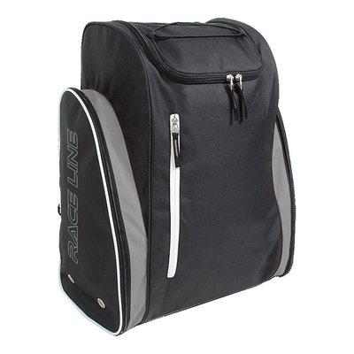 Geniale Skischoenen Tas & Skihelm tas in één zwart-zilver