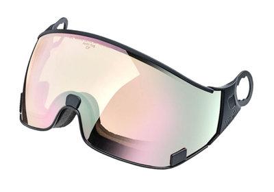 CP 20 Skihelm Vizier Meekleurend Los - Cat. 1-2 (☁/❄/☀) - DL Vario Lens Water Pink Mirror