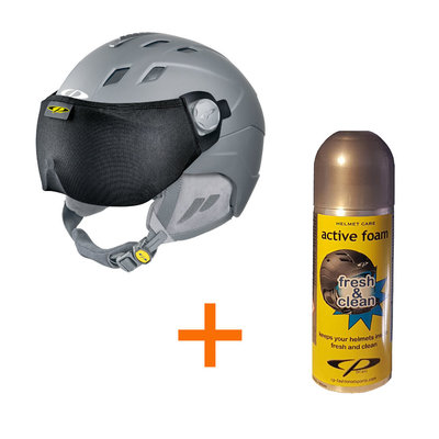 kado 2 - gratis Skihelm Vizierbeschermer + Helmreiniger Spray 200 ML flesje
