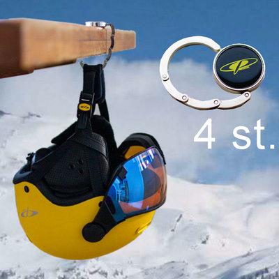 kado 3 - nu gratis 4 CP skihelm tafel hangers | Eindelijk normaal eten zonder helmen!