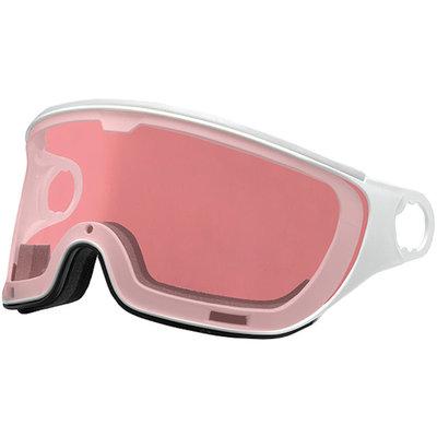 Mango Skihelm Vizier Meekleurend & Polariserend roze wit (☁/❄/☀) - voor Mango cusna & quota & alpina jump