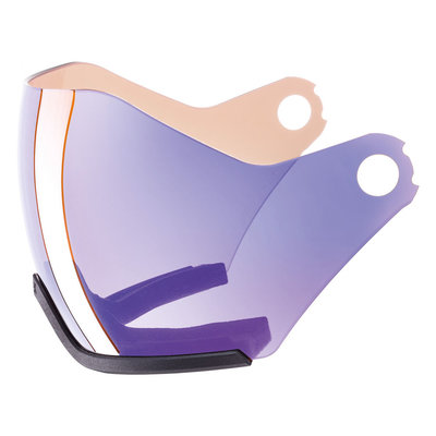 Uvex Skihelm Vizier Photochromic los - Voor HLMT 600 - variomatic mirror blue Cat. 1-2 (☁/❄/☀)