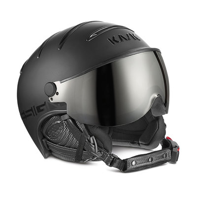 Skihelm Kask Class Shadow  - black - photochromic Vizier ☁/☀/❄