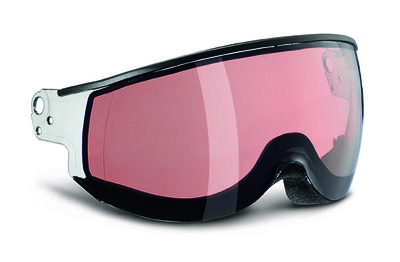 SMOKE PINK PHOTOCHROMIC Cat.2 - (☀/☁) - PIUMA VIZIER - VOOR KASK CLASS SKIHELM