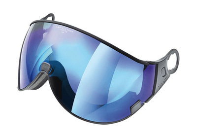 Skihelm Vizier los CP 04 flash blue mirror - cat. 3 (☀) - voor CP camurai & cuma skihelm