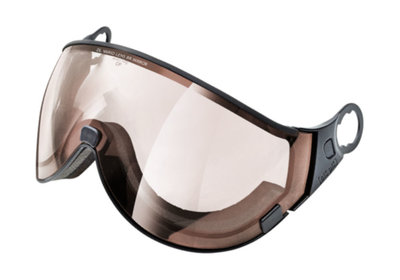 Skihelm Vizier los CP 12 dl meekleurend lens brown mirror - cat. 1-3 (☁/❄/☀) - voor CP camurai & cuma skihelm