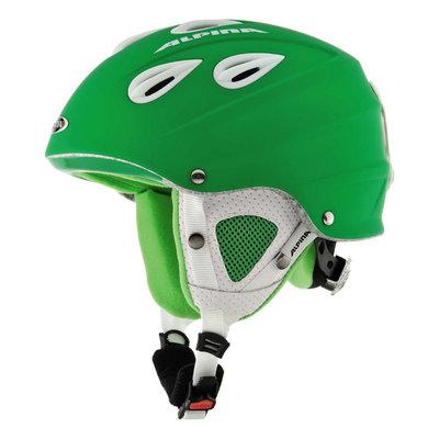 Skihelm Skihelm Alpina grap  - Groen matt