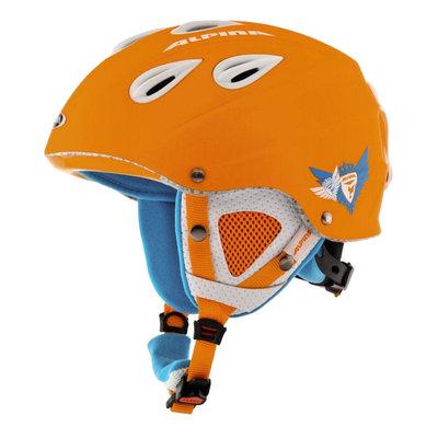 Skihelm Skihelm Alpina grap  - Oranje matt