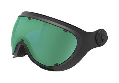 Skihelm Vizier Slokker green black -  (☁/☀/❄)