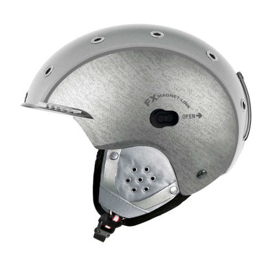 Skihelm  Casco sp-3 airwolf  - zilver - voor dames & heren