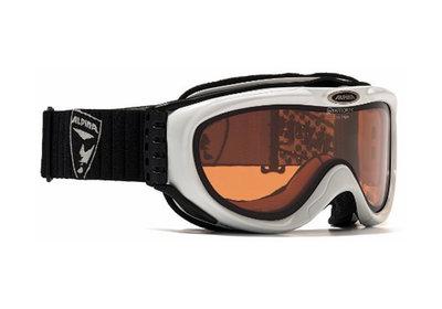 Skibril Alpina freespirit   Wit - quattroflex  s1 (☁/❄)