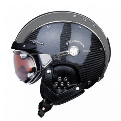 Skihelm  Casco sp-3  - carbon Zwart limited - voor dames & heren