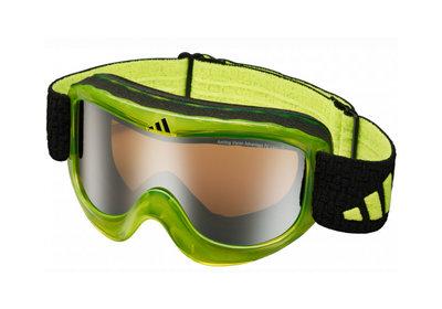 Skibril Adidas pinner  een maat limoen-lst active  (☁/☀)