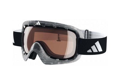 Skibril Adidas id2  Zwart Skibril Adidas-lst active zilver licht  (☁/☀/❄)