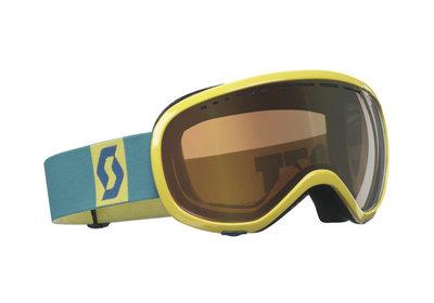 Skibril Scott off-grid  m-l geel taling Groen (☁/☀/❄)