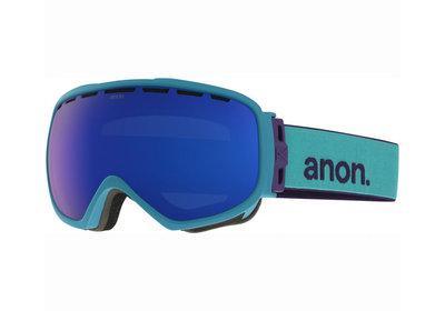 Skibril Anon somerset  dames moodring-Blauw kobalt (☀☀)