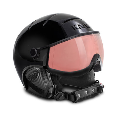 Kask Essential Skihelm  - Black - Smoke Pink Vario (Cat.2 - ☀/☁)