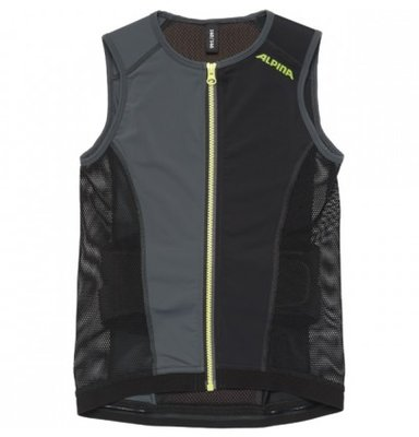 Alpina JSP Junior Vest Rugbeschermer Zwart