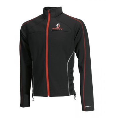 Scott Soft Actifit Thermal Jacket Vestprotector S Zwart Rood