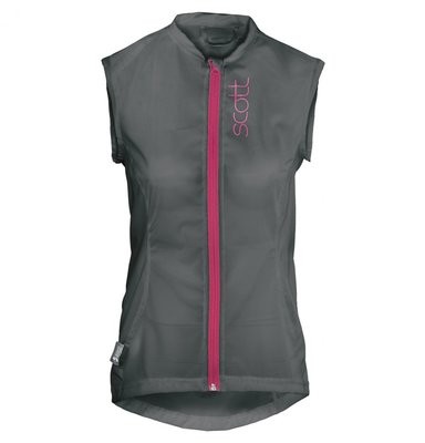 Scott Actifit Woman´s Light Vest S Grijs Roze