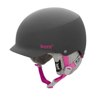 Bern Muse Snowboardhelm Matt Grijs & Grijs Breien
